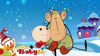 Yoyo et Darwin décorent le sapin de Noël  - BabyTV Türkçe