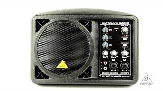 EUROLIVE B205D Ultra-Compact 150-Watt PA/Monitor Speaker System
