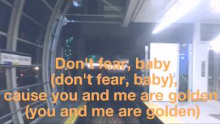 Golden Travie Mccoy ft. Sia lyric video