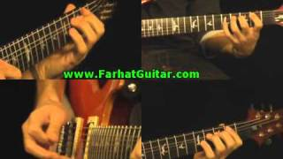 In the Flesh - Pink Floyd PArt 4 Guitar Cover   www.farhatguitar.com