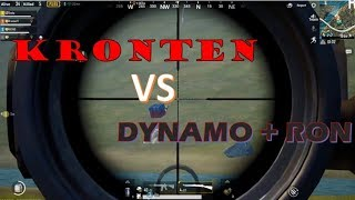 KRONTEN VS RON + DYNAMO !! YOUTUBER VS  YOUTUBER!! DYNAMO VS KRONTEN !! #INTENSEFIGHT
