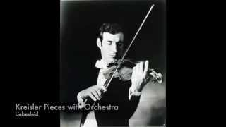 Kreisler, Liebesleid for Violin and Orchestra | Peter Zazofsky