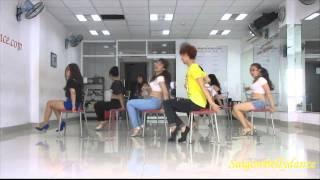 SaigonBellydance Shut Up and Drive - Rihanna Mr. Long Chair dance