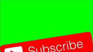 Youtube Subscribe Button logo|| Subscribe botton and bell icon ||Green Screen Animation||#pankajboss