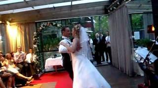 Lena och Rickard Bröllopsvals 22 Maj 2010 på Villa Talliden