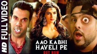 Aao Kabhi Haveli Pe | Badshah, Kriti Sanon, Rajkumar Rao, Stree Movie Song