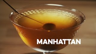 How to Drink: Manhattan