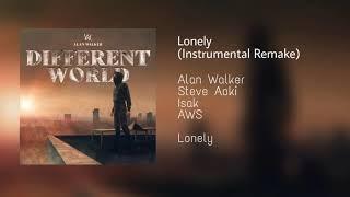 Alan Walker – Lonely– (Instrumental Remake) - Steve Aoki & Isak _ NCI Release