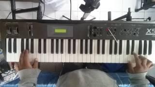 Amárrame | Mon Laferte | cover teclado | X5D