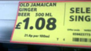 Video 25 - Weird ginger beer prices