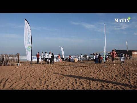 Video : La Centrale Automobile Chérifienne s'associe à l'association Bahri pour nettoyer la plage d'Aïn Diab