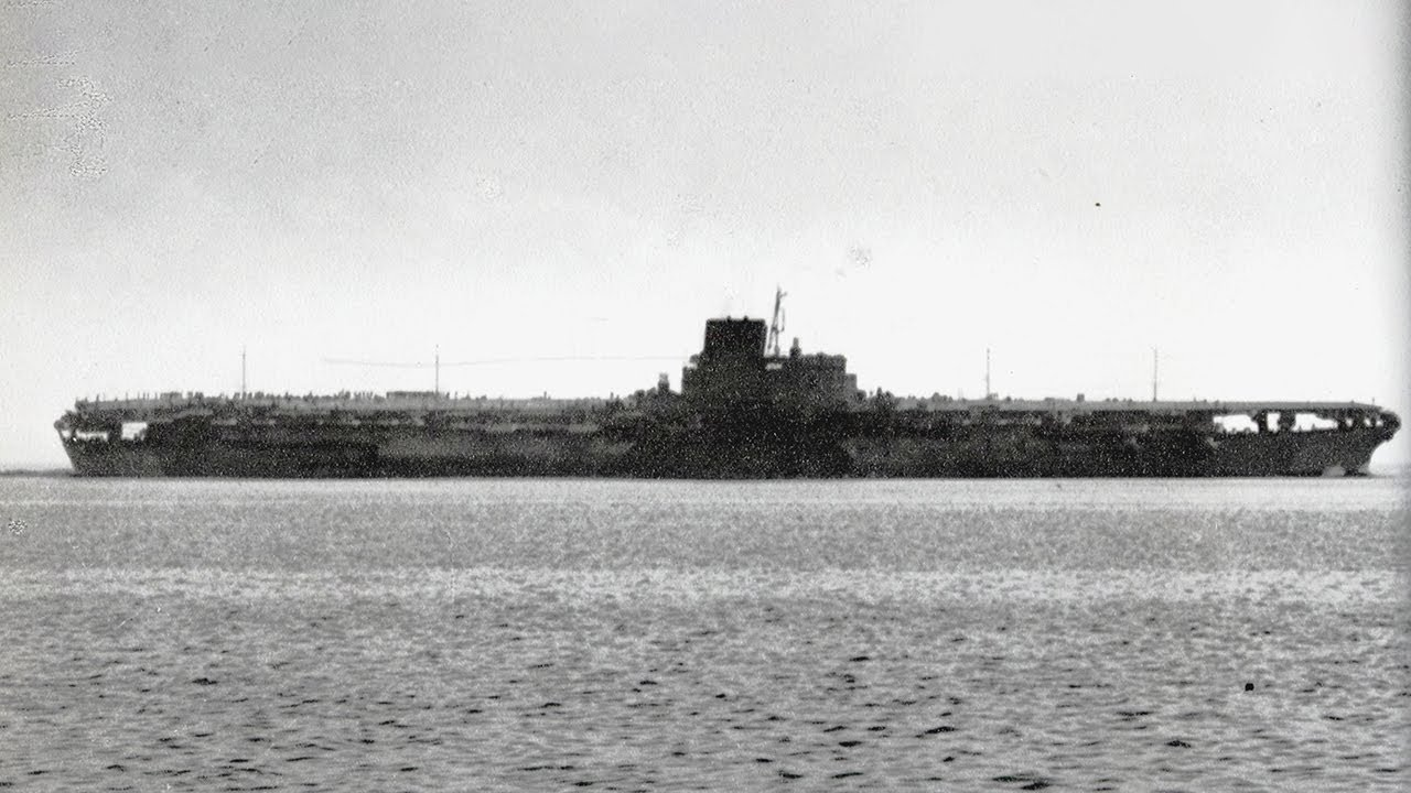 Japan's Secret Supercarrier Only Seen Twice in WW2