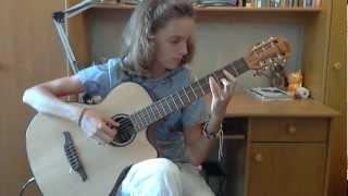 (I Pooh) Fantasia - Alina Vlasova guitar cover