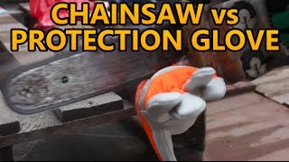 Chainsaw vs cut protection gloves for lumberjacks and arborists