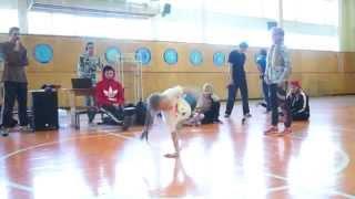 """Яна Лагода (в белом)(т.к Brooklyn) полуфинал """"Unreal dancing floor 3"""""""