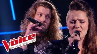 The Voice 2016 | Julie Moralles VS Jérémie - Chanter (Florent Pagny) | Battle