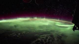 WATCH   Time lapse of the Aurora Borealis from the International Space Station