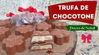 miniatura TRUFA DE CHOCOTONE - DOCES DE NATAL