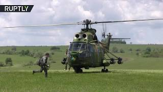 Air forces & troops: Large-scale NATO drills conducted in Romania