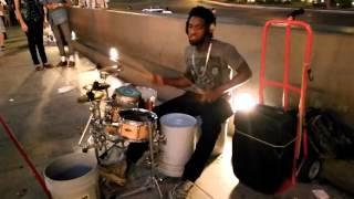 Lil Wayne - Lollipop (Street Drum Solo)
