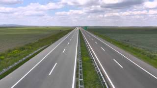 Mouvee - free stock footage - highway cars traffic overpass