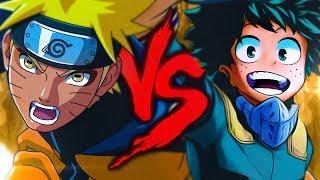 Naruto VS.  Midoriya | Batalha de Mestres [Part. 2as Oficial]