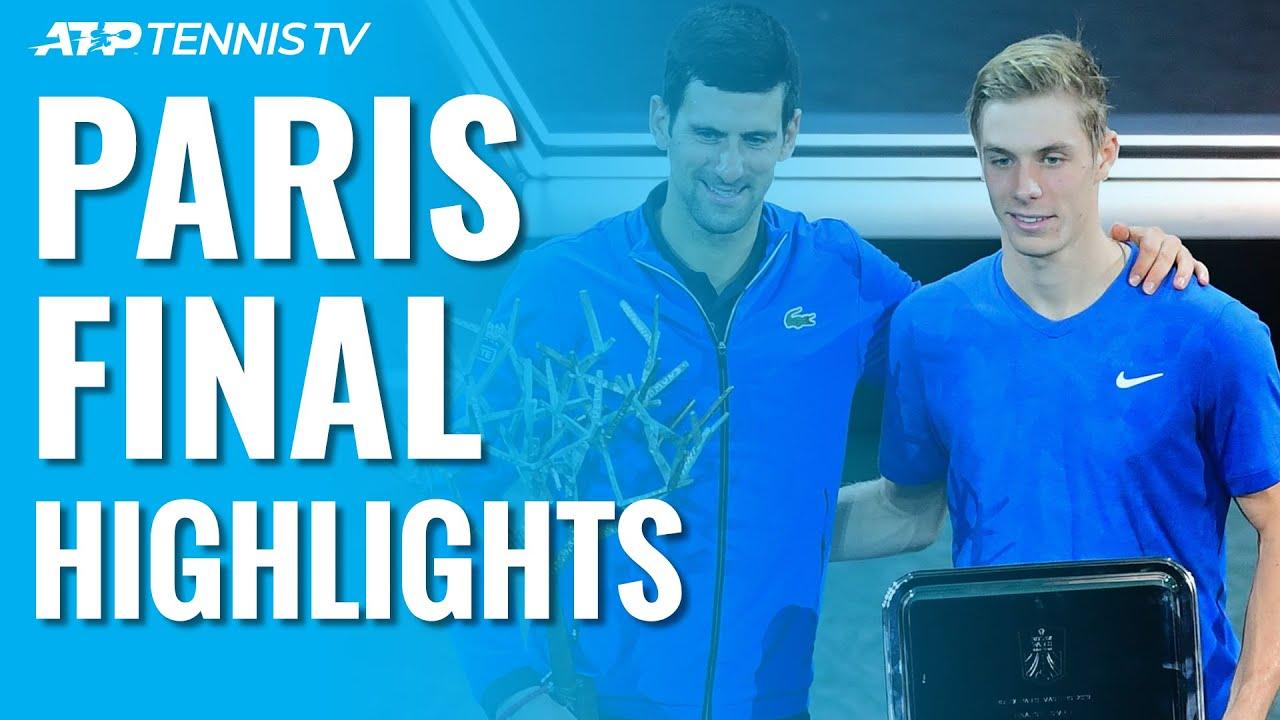 Djokovic Beats Shapovalov to Win Fifth Paris Masters Title! | Paris 2019 Final Highlights