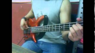 Pearl Jam   Elderly Woman Behind the Counter in a Small Town bass cover