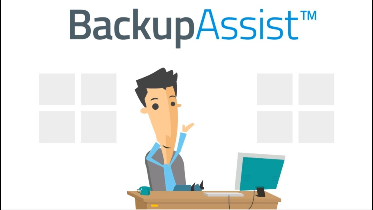 BackupAssist animated explainer