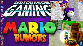 A Complete History of Mario Rumors - Did You Know Gaming? Feat. Remix