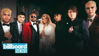 CNCO, Meghan Trainor & Sean Paul Release Music Video for Reggaeton Jam 'Hey DJ' | Billboard News