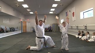 Little Dragon's - Fourth Karate Belt Test