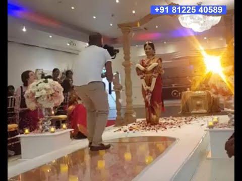 #Flower Shower Bride Groom #Entry Digital Wedding Marriage Reception Event