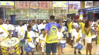 Escola de samba mirim 'Tijuquinha do Borel' é sétima a desfilar no Sambódromo, na terça de Carnaval