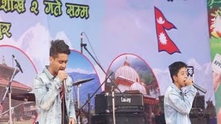Mah - Ace T and Hareep flo (live in Bhaktapur)