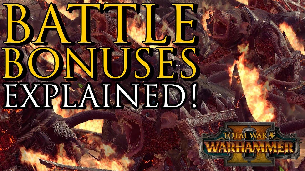 Zerkovich - Battle BONUSES Explained! - Warhammer 2