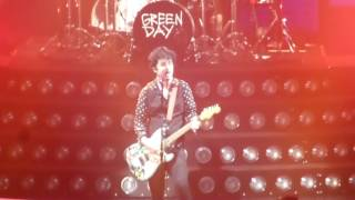 """GREEN DAY """" YOUNG BLOOD""""@ FOREST NATIONAL BRUXELLES /BRUSSELS 2017"""