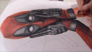 Drawing: Deadpool