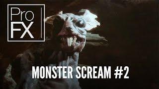 Monster scream sound effect (2) | ProFX (Sound, Sound Effects, Free Sound Effects)