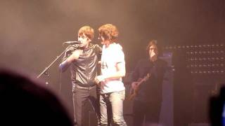 "Arctic Monkeys introducing Miles Kane for ""505"" [Live at Don Valley Bowl, Sheffield - 10 June 2011]"