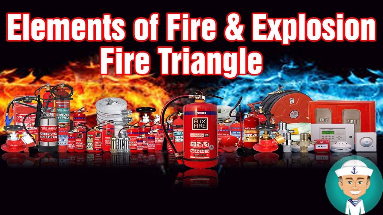 Elements of Fire and Explosion - Fire Triangle