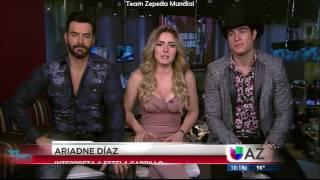 David Zepeda y elenco de LDVDEC hablan de sus experiencias al protagonizar esta historia