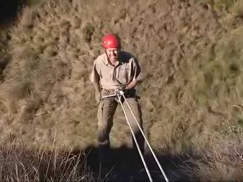 Abseil in the Southern Drakensberg, South Africa