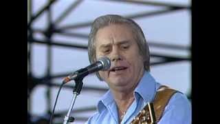 George Jones - The Race Is On (Live at Farm Aid 1985)