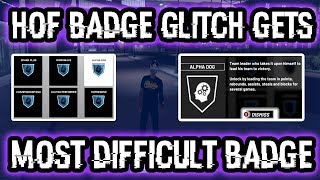NBA 2K19 NEW BADGE GLITCH CAN GET MOST DIFFICULT BADGE FAST! 90% OF PLAYERS DON'T HAVE ALPHA DOG!