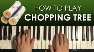 HOW TO PLAY - FORTNITE SOUND EFFECT - Chopping Tree (Piano Tutorial Lesson)
