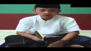 SUBHANALLAH Merdunya Suara Rafly Gowa Saat Baca AL Quran Bikin Merinding width=