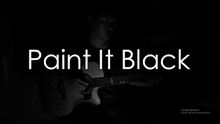 (The Rolling Stones) Paint It Black [Free Tabs] - Fingerstyle Guitar Cover