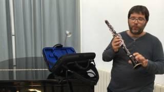 Cómo montar el clarinete