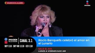 Rocío Banquells celebró el amor en el Lunario